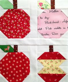 Quilty Fun Apples | Flickr - Photo Sharing!
