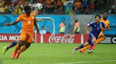 Mundial Brasil 2014 Ivory Coast come from behind to beat Japan 2-1 in their 2014 Fifa World Cup Group C opener.