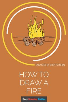 Drawing Tutorials For Kids, Drawing Tips, Drawing Board, Art Tutorials, Drawing Ideas, Fire Drawing, Nature Drawing, Autumn Art Ideas For Kids, Spider Drawing