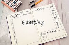 Discover recipes, home ideas, style inspiration and other ideas to try. Bullet Journal Fait, Bullet Journal Notebook, Bullet Journal Layout, Bullet Journal Inspiration, Journal Ideas, Planner Organisation, Organization Bullet Journal, Journal Fonts, Journaling