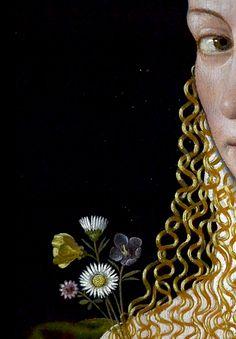 bartolomeo veneto, flora, c. 1515 (detail)