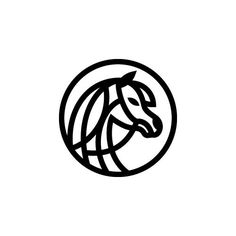 Arabian Horse Organization Logo | Logofolio Hall of Fame on Behance by Abdullah Kenani