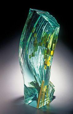 Studioglas Prostor / Space, 1997. Glas. 22×22×26cm.