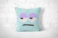 Grumpy Pillow Funny Throw Pillow Kids Room Decor Cute