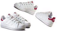 on sale e54f8 1f275 Adidas Pre-School (PS) Kids STAN SMITH WhiteBold Pink BA8377 adidas  FashionSneakers