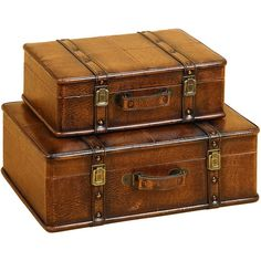 I pinned this 2 Piece Albertson Trunk Set from the Last Minute Deals event at Joss and Main!