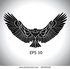 Tattoos on Pinterest | Eagle Tattoos, Eagles and Men Back Tattoos