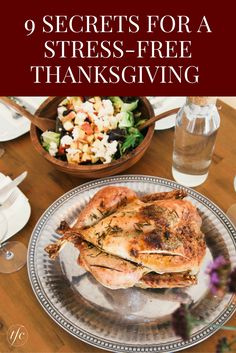 9 Secrets for a Stress-Free Thanksgiving | Thanksgiving Dinner Ideas | Hosting Tips | Party Planning |