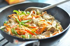 Wok Recipes, Snack Recipes, Snacks, Japchae, Food Inspiration, Lunch, Dinner, Cooking, Omelet