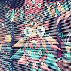 Die Stadt ist bunt #graffiti #ilovevienna #wienistcool#vienna #streetart #wieden #igersvienna #myhometown #instaart #colorful #cityart #urbanart