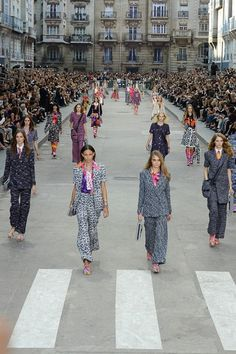 Chanel womenswear, spring/summer 2015, Paris Fashion Week