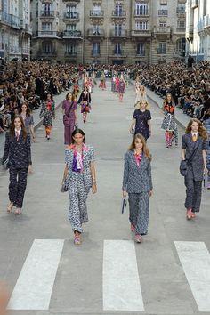 Chanel womenswear, spring/summer 2015, Paris Fashion Week