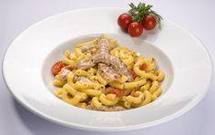 Maccheroncini alle canocchie (macaroni with mantis shrimp), Emilia-Romagna