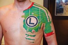 12 Craziest Soccer Tattoos - totally cool but could never do