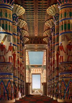The Highly Sacred Precinct of Amun-Re The Great. - The Highly Sacred Precinct of Amun-Re The Great… - Ancient Egypt Art, Old Egypt, Ancient Aliens, Ancient Artifacts, Ancient History, European History, Ancient Greece, Ancient Egypt Architecture, Architecture Antique