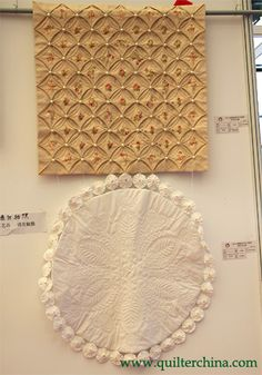 CATHEDRAL WINDOW QUILT...........PC
