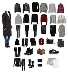 """""""Europe Winter Packing List"""" by andthisisthereasonwhy on Polyvore featuring Canada Goose, Uniqlo, rag & bone, Alexander Wang, Michael Kors, River Island, Tony Bianco, IRO, Toast and Theory"""