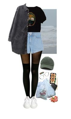 """little stones"" by paper-freckles ❤ liked on Polyvore featuring Xenab Lone, Pretty Polly, Ash, Chicnova Fashion and Ray-Ban"
