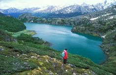 Trecking in Usuhaia. Patagonia, Argentina. The most southern city in the world.