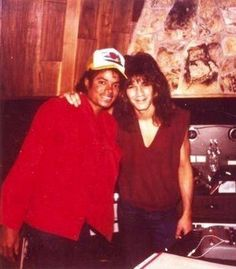 Eddie Van Halen and Michael Jackson in the Studio 1983 | Flickr ...
