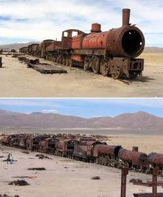 8 Fascinating Object Graveyards (aeroplane graveyard, ship graveyard, train graveyard) - ODDEE