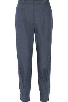 Band of Outsiders Cotton tapered pants #theoutnet
