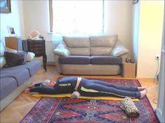 Худеем лежа. Минус 4 см за 5 минут в день! Метод Фукуцудзи. - YouTube