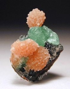 "ggeology: "" Anapaite with Barite """