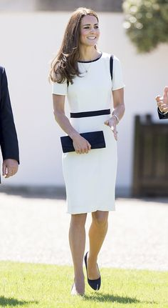 LONDON, ENGLAND - JUNE 10:  Catherine, Duchess of Cambridge during an official visit to National Maritime Museum on June 10, 2014 in London, England.  (Photo by Mark Cuthbert/UK Press via Getty Images)