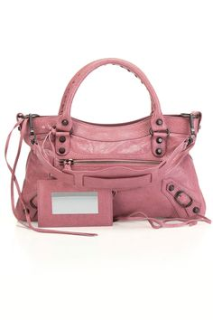 Balenciaga Classic First Handbag In Pink Briar - Beyond the Rack