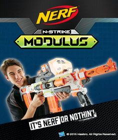 The Nerf Modulus, now available for pre-order!  http://www.thetoyshop.com/brands/nerf/nerf-n-strike-modulus?productGridView=0