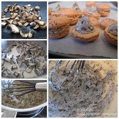 Making-mushroom-macarons