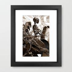 Darko  par Jean-François Dupuis Framed Art Print by Jean-François Dupuis - $40.00