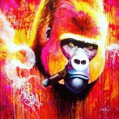 Noe2 at Urban Art Fair Paris - Discover more Street Art at www.UrbanArtNow.com - #StreetArt #UrbanArt #Graffiti #Mural