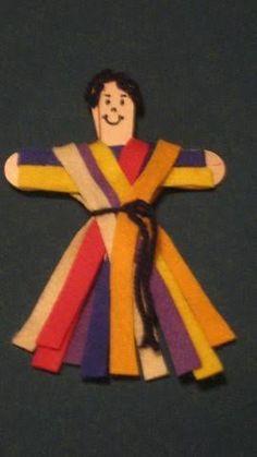 Resultado de imagen para manualidades biblicas para niños de jose