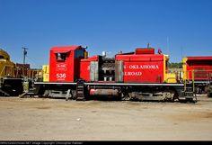AOK 536   Description:  Parked at the AOK Wilburton yard.   Photo Date:  9/30/2010   Location:  Wilburton, OK   Author:  Christopher Palmieri  Categories:  Roster  Locomotives:  AOK 536(SW1)
