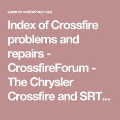 2004 chrysler crossfire service manual
