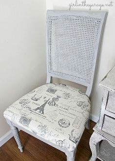 painted furniture french chair makeover, chalk paint, painted furniture