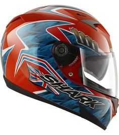 Shark S700S Foggy Replica Shark Motorcycle Helmets, Shark Helmets, Motorcycle Outfit, Racing, Bike, Hard Hats, Running, Bicycle, Motorcycle Suit
