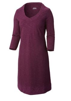 With an active fit, this 3-quarter length Rocky Ridge performance dress featuring 4-way comfort-stretch fabric is super comfortable and a sure sign that you are ready for adventure.