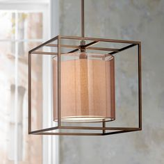 Conroe Oil-Rubbed Bronze Metal Cube 18