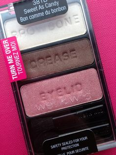 Wet n Wild Color Icon Eyeshadow Trio Sweet As Candy - I legit use this almost everyday! Definitely more than my UD Naked palette.