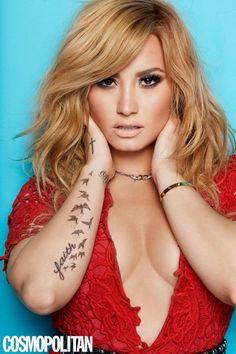 Demi Lovato Talks Being A Badass, Bulimia & More In New Cosmo.