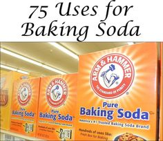 Baking Soda has SOOOO many Uses including cleaning. It's cheap and can be used for so many things-See 75 uses here
