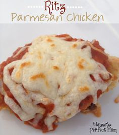 Not So Perfect Mom: Ritz Parmesan Chicken