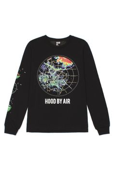 Hood By Air RADAR L/S T-SHIRT