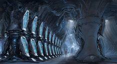 ArtStation - Criogenic vault, Alejandro Burdisio