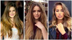 Doğal görünümlü röfleli saç renkleri ve modelleri