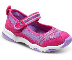 Scarlet Mary Jane Sneaker in Pink and Purple by Stride Rite Purple Suede, Pink Purple, On Shoes, Baby Shoes, Back To School Shoes, Shoe Collection, Skechers, Scarlet, Fashion Boots