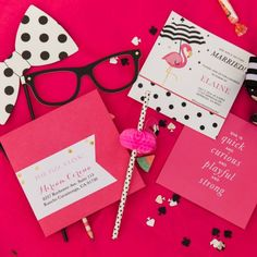 Full of polka dots and bright pink details, this Kate Spade shower is perfect for a girly bride-to-be!